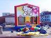 Best selling inflatable hello kitty castles