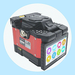 Automatic FTTH optical fiber fusion splicer with touch screen