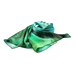 Low Price Promotion High Quality Green Printing Custom 14mm Silk Scarf