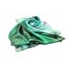 Low Price Promotion High Quality Green Printing Custom 14mm Silk Scarf