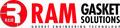 Ram Gasket Solutions: Regular Seller, Supplier of: gaskets, seals, o rings, washers, foam tape, cork discs.