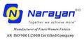Naryan Texfab Pvt Ltd: Seller of: polyester fabric, jacquard fabric, georgette fabric, polycotton fabric.