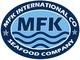 M F K International Co.: Seller of: ribbon fish, white tiger brown shrimps hosopud, eel fish, squid, blue 3sport crabs, razor shells, sole fish, red sea bream, indian mackerel.