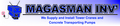 Magasman Investments: Seller of: tower cranes, concrete transporting pumps, synthetic diamonds, bar straightning and cutters, diamond polishing machines, road cutting machines, frog rammers, residue cleaning machine, sj800 wire saw machine. Buyer of: road construction materials, clinical equipment, new improved building machinery.