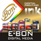 E -BON Digital  Solution: Seller of: refillable ink cartridge, mimaki chip, roland damper, mutoh ink, mimaki cap top, printer, epson dx4 printhead, ink pump, dx5 head wiper.
