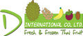 D International Co., Ltd.: Seller of: fresh vegetable, dried vegetable, fresh thai herbs, fresh thai fruit, frozen thai fruit, durian, mangosteen, rambutan, mango. Buyer of: contactd-thaifruitcom.