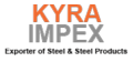 Kyra Impex: Seller of: steel, steel scrap, copper, brass, steel products, angles, iron, metal, coil. Buyer of: steel coils, steels plates, ppgi sheets, pp coil, pipes gi, gi products, metals, steel scrap, cooper.