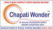 Kailash Engineering Works Chapati Wonder TM: Seller of: chapati making machine, compact chapati maker, compact chapati making machine, compact chapati making machine fully automatic, dough kneading machine, fulka making machine, indian wheat bread making machine, roti making machine, tortilla making machine.