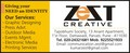 Zest Creative: Seller of: graphic designing, press advertising, printing services, electronic advertising, events mgmt, outdoor publicity, brochure design, corporate identity, brandingproduct packaging design label design product launching.