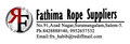 Fathima Rope Suppliers: Seller of: cocunut yarn, cocunut ropes, coconut fibers.
