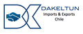Dakeltun Exports & Imports Chile: Seller of: timber, wine, oil, spices, copper, clay products, fertilizer, beer, wicker.