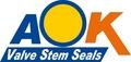 AOK Valve Stem Seals LTD.: Seller of: valve stem seal, bonded seal, large-size o-ring, large-size oil seal, gaskets, bushings.
