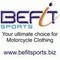 Befit Sports: Seller of: men and women, motorcycle and motocross, leather and textile, clothing and apparel, shirts and hoodies, jackets and pants, gloves, rainwear and protective gear, accessories.
