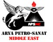 Arya Petro-Sanat Middle East: Seller of: control valves, level measuring, flow measuring, pressure measuring, temperature measuring, industrial recorders, industrial indicators, flame gas equipment, analyzers.