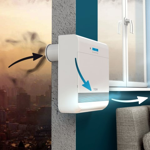 Breezer Tion O2 - compact ventilation device, Buy from Tion. Russia -  Novosibirskaya - European Business Directory, European Trade Portal, Europe  B2B Marketplace