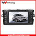 2 din car dvd multimedia player for toyota camry with GPS, Bluetooth