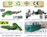 Plastic PE PP film PET bottle washing recycling granulating  machinery