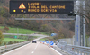Variable Message Led Traffic Signs Standard Highway Sign For Environme