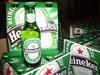 Heineken Beer, Conora extra, Kronenbourg 1664