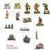 Polyresin/polystone/resin miniature monuments