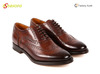 Genuine leather fashion cow leather men shoes