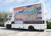 Mobile Led Ad Display Trailer with Billboard
