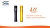 Elegant mini LED Flashlight, with 1pcs AAA battery, with cree led