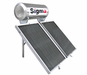 Solar water heaters (flat solar thermal collectors and storage tanks)