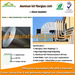 Fabric -foil High temperature reflective insulation material