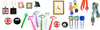 Luggage tag, keyring, zip pull, logo label, coaster, bar mat, rubber silicon