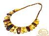 Unique design Baltic amber necklace