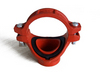 Pipe fitting and grooved coupling