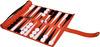 Backgammon (Leather Zipper Roll up)