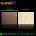 High gloss PET film laminated mdf board for kitchen cabinet