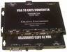 VGA to CAT5 Converter with Dual output