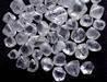 Rough, uncut, unpolished diamonds