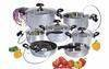 S/S 13PCS JUMBO-LUX COOKWARE SET