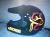 Motorcycle cross model helmet