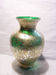 Silver Foil Glass Vase