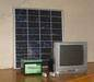 Solar home power lighting systems