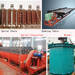 Shaking table shaking bed ore separator mineral concentrator dressing