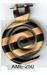 Tribal earring in wood, horn & bone