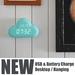 New items 2015 cloud small mini digital clock