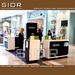 Cosmetics Kiosk, Display Showcase, Retail Counter, Skincare Station