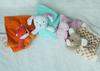 Plush stuffed animal head comforter blanket, security blanket, birth/Chr