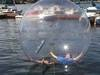 Water ball, walk on water ball, sealed inflatable zipper ball