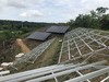 Rail-free Ballasted Roof Solar Mounting System, solar structure, hook