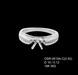 18K White Gold Semi Mounting Ring