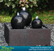 Water fountain for garden landscaping
