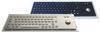IP65 industrial stainless steel keyboard/metal keyboard with trackball